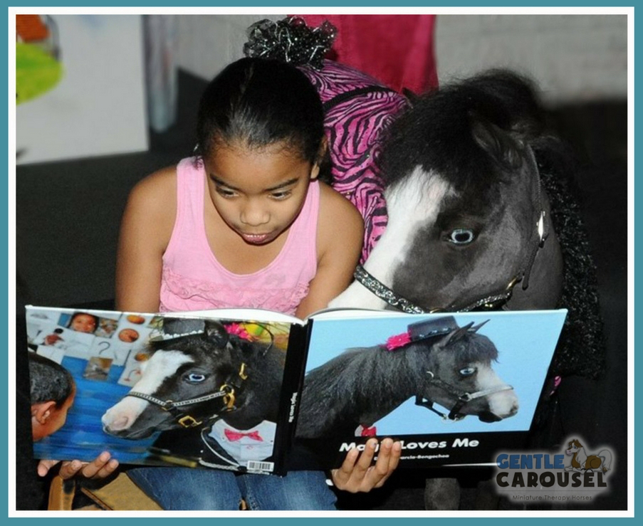little hero horse magic therapy horses gentle carousel books equine read 903x739