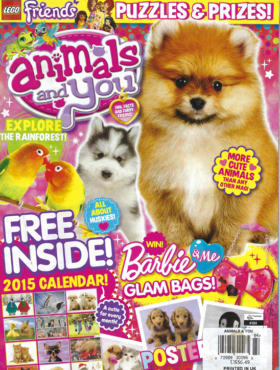 Gentle Carousel Minis Featured in Animals and You Magazine