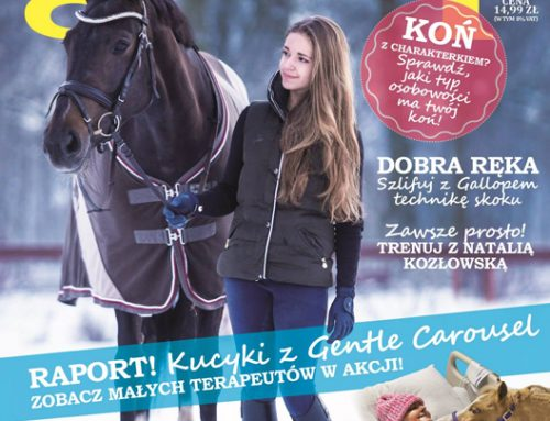 Gentle Carousel makes international friends in Gallop Magazine