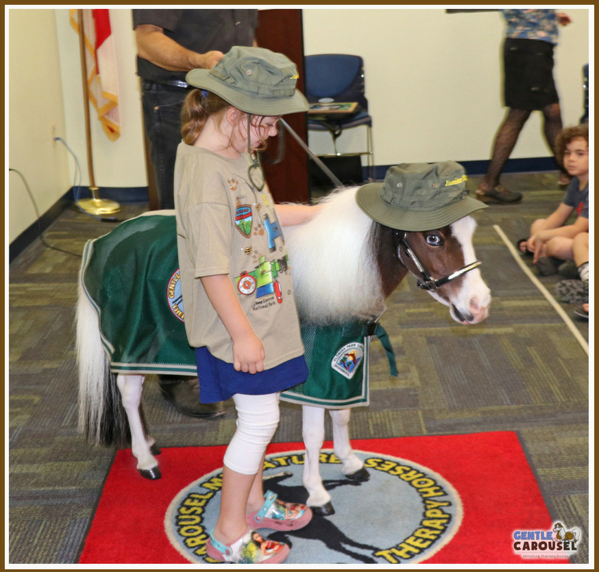Ranger Scout Gentle Carousel Library Therapy Horse 874x836